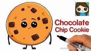 Cartoon Cookie Drawing – Kids YouTube