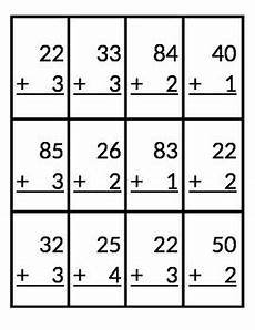 addition without regrouping grade 1 skeeball 2 digit 1 digit addition without regrouping by