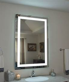 mam83248 32 quot w 48 quot t lighted vanity mirror wall mounted led makeup mirror