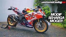 Cbr250rr Modif by Modif Motor 250cc Seharga Moge Honda Cbr 250rr