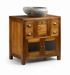 meuble pour vasque meuble vasque en bois de pour salle de bain