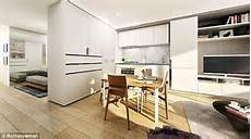 australian architects create convertible apartments featuring a movable wall daily mail online