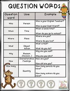 worksheets question words 18435 i created a question words two versions 30 cards for each version for cycle