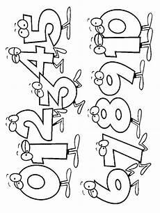 bojanke za decu brojevi teacher life