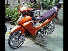 Modifikasi Jupiter Z 2005 modifikasi jupiter z orange 2005 modifikasi motor terbaru