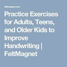 improve your handwriting worksheets for adults 21875 practice exercises for adults and to improve handwriting feltmagnet