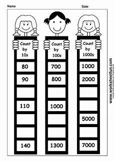 skip counting by 10 s worksheet for kindergarten 12022 skip counting by 10 100 and 1000 1 worksheet printable worksheets skip