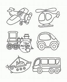 transport colouring worksheets 15181 transportation coloring page for toddlers coloring pages printables free wuppsy צייר