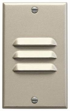 kichler lighting vertical louver dimmable led step light in65621 contemporary wall lights