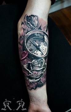 compass done by kobay kronik in istanbul ink ideas