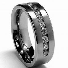 8mm titanium wedding band mens wedding ring womens by