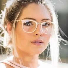 buke new 2018 vintage optical eye glasses frame oval metal unisex spectacles