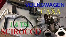 vw 1 4 tsi turbo repair naprawa turbo caxa engine