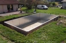 piscines en kit kit piscine panneaux acier