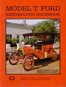 car repair manuals online pdf 1909 ford model t engine control 1909 1925 1926 1927 ford model t restoration book manual shop service repair ebay