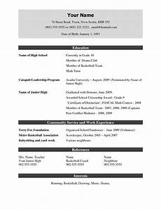 resume template free pdf free resume templates you ll