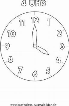 Ausmalbilder Uhr Mit Zeiger Malvorlagen Ausmalbilder 4 Uhr Ausmalbilder