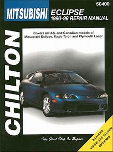 car repair manuals online free 2004 mitsubishi eclipse user handbook eclipse talon laser repair manual 1990 1998 chilton 50400