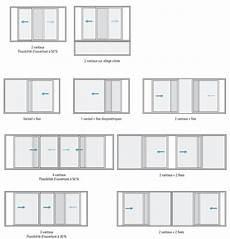 fenetre coulissante alu standard baie standard baie vitr 233 e alu 3 vantaux prix hotel le