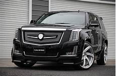 cadillac escalade gets calwing kit from japan and