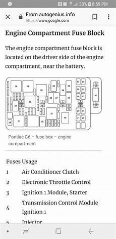 2006 pontiac g6 fuse box location relay switch 2009 pontiac g6 fuse box wiring diagram