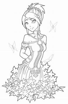Anime Malvorlagen Novel Free Printables Anime Style Characters Coloring Pages