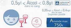 taux alcool dans le sang alcool au volant taux perte de points et amende legipermis