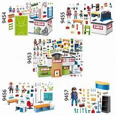 Playmobil Ausmalbilder Schule Playmobil 9453 54 55 56 57 Schule 2018 Set 2 9453 9454