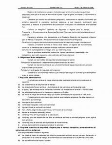 norma oficial mexicana nom 005 stps 1998 relativa a las condiciones