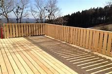 Terrasse Zaun Holz - terrassen aus holz f 252 r ihre erholung im garten