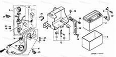 honda atv 2003 oem parts diagram for battery partzilla com
