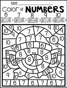 color by number worksheets 1 10 16053 color by code numbers 1 10 activities by kindergarten rocks