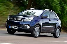 New Ssangyong Korando 2017 Facelift Review Auto Express