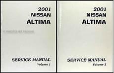 auto repair manual online 2001 nissan altima seat position control 2001 nissan altima repair shop manual set original