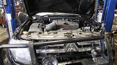 how does a cars engine work 2002 mitsubishi eclipse regenerative braking wrecking 2008 mitsubishi pajero 3 20 c16628 youtube