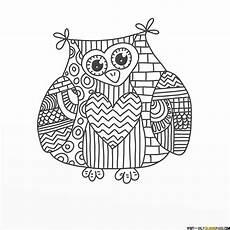 paisley owl coloring pages malvorlage eule malvorlagen