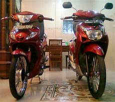 Modif Motor Jupiter Mx Warna by Jupiter Mx Modifikasi Warna Merah Thecitycyclist