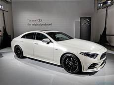2019 Mercedes Cls Is A 48v Hybrid Luxury Four Door