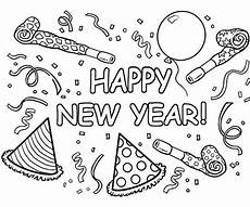 printable winter coloring pages new year coloring pages
