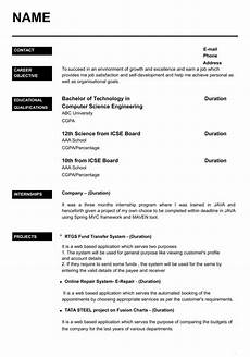 best engineering student resume