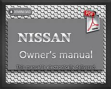 how to download repair manuals 2001 nissan frontier transmission control nissan frontier owners manual 2001 pdf download download manuals