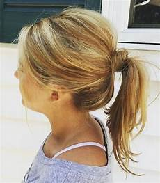 medium ponytail hairstyles 38 perfectly imperfect hairstyles for all lengths