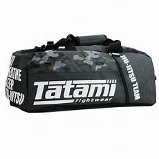 tatami fightwear camo duffle gym bag canada convertible backpack the clinch fight shop