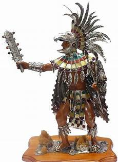 Aztec Warrior Reproduction Figurine General Ideas