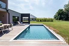 une piscine contemporaine dans la brabant wallon en