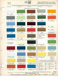 paint chips 1975 gmc chevy truck motor home sprint