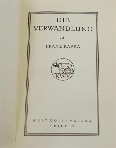 Kafka Metamorphosis Pages