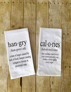 set of 2 kitchen towels hangry definition calories