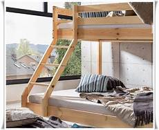 Hochbett Kaufen - hochbett etagenbett mike natur 140 x 90 x 200 cm