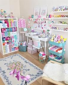 cute craft space aycrk instagram craft room design